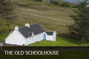 One of our holiday cottages is an old schoolhouse